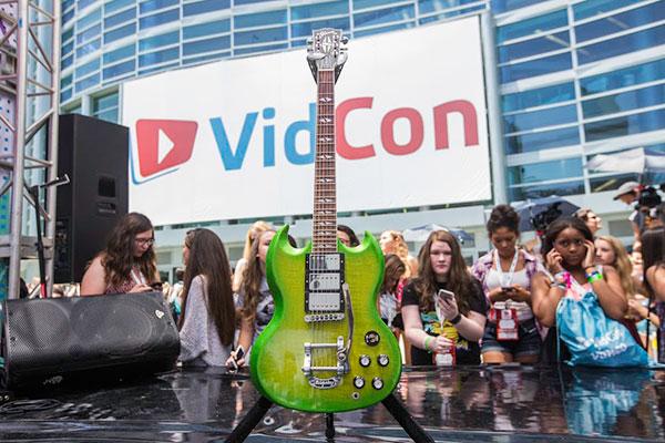 Gibson VidCon Epic Guitar Jump