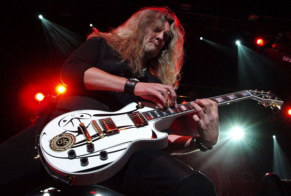 Joel Hoekstra of Whitesnake by Anne Erickson