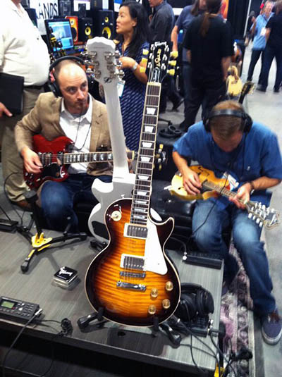 Gibson Brands Summer NAMM 2015