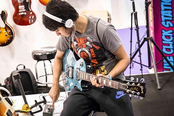 Gibson Brands at Comic Con 2015 - Dubai
