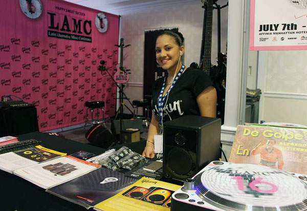 The Latin Alternative Music Conference was held in New York City last week, and Gibson Brands were of course on hand to provide, and demonstrate gear.