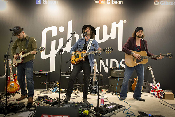Gibson Brands Musikmesse 2015