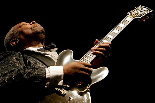 BB King Photo courtesy of Gary Miller Photography