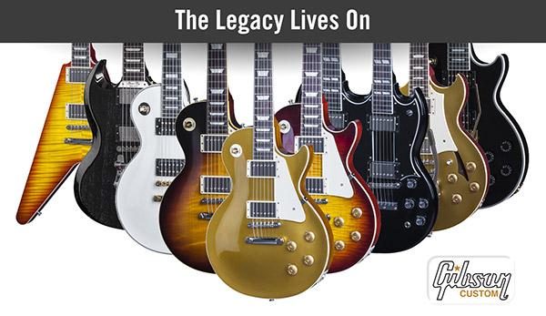 2016 Gibson Custom Lineup