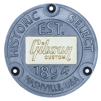 Gibson Custom Badges