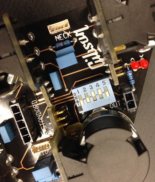 Gibson High Performance model Treble Bleed