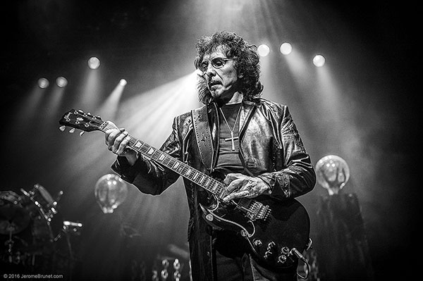 Tony Iommi by Jerome Brunet