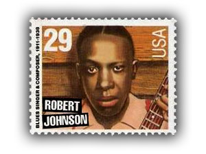 Robert Johnson stamp