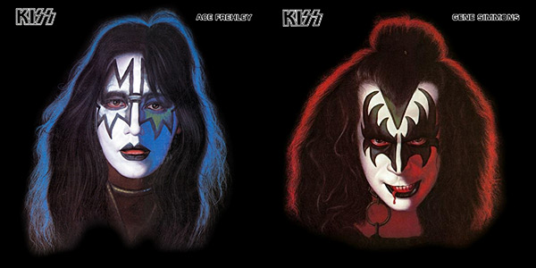 Ace and Gene of KISS