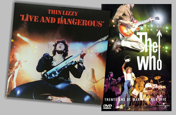 Thin Lizzy and The Who