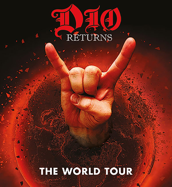 Earlier this year, the Dio Returns tour was announced featuring a hologram  of the late hard rock vocalist Ronnie James Dio, backed by his old band.