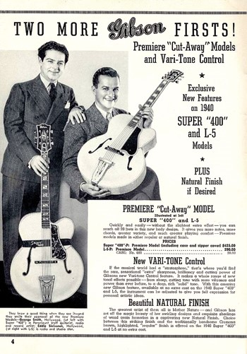 old Gibson ad