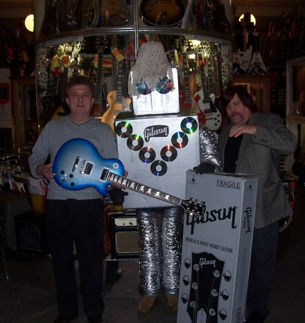 House of Guitars in Rochester, New York