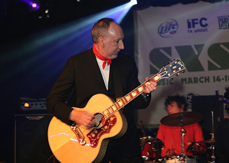Pete Townshend Playing A SJ-200