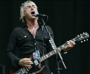 Paul Weller with Gibson SG