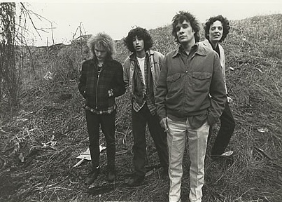 1987 Promo Shot of the Replacements, with new guitarist Slim Dunlap