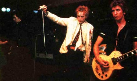 Guitars of the sex pistols