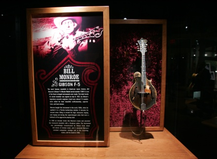 Bill Monroe's L-5 Mandolin at the Country Music Hall of Fame and Museum