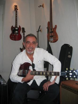 Henry Padovani avec Gibson SG