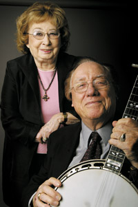 Louise and Earl Scruggs
