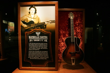 Maybelle Carter's L-5 at the Country Music Hall of Fame and Museum