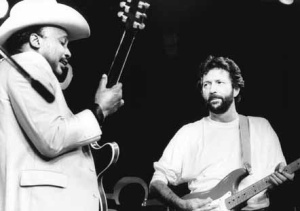 Otis Rush and Eric Clapton
