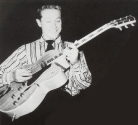 Scotty Moore with a Gibson L-5