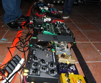 World's Largest Pedalboard