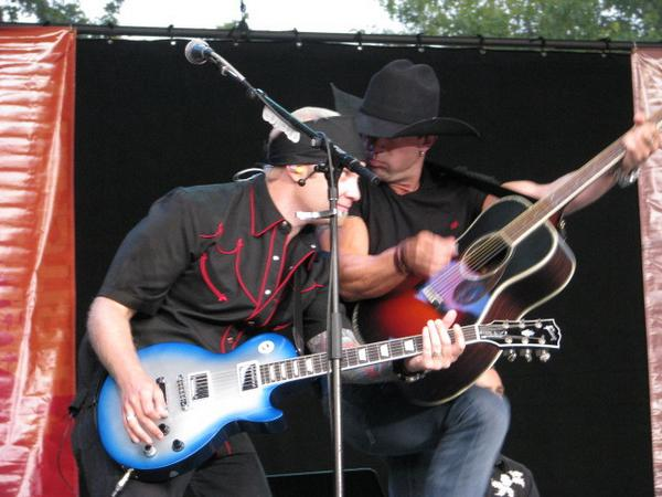 Mitch Merrett and Aaron Pritchett