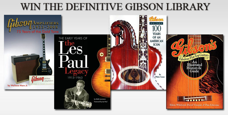 Enter Now for a Chance to Win the Definitive Gibson Library!
