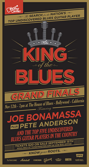 guitar center announces king of the blues grand finals. Black Bedroom Furniture Sets. Home Design Ideas