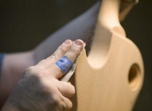 Gibson USA Final-Body-Sanding