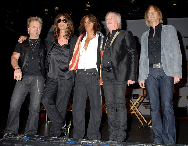 Six dates into its north american summer tour aerosmith announced on