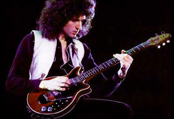 Brian May with Red Special