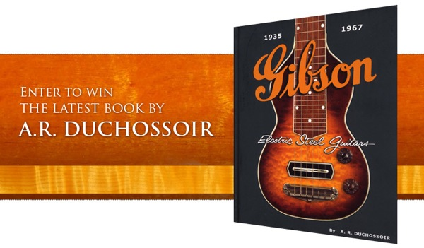 Enter to win Gibson Electric Steel Guitars book