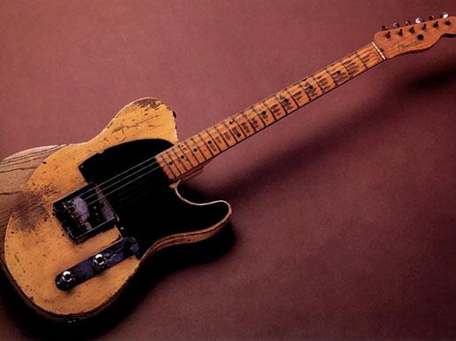 Legendary Guitar: Jeff Beck\'s 1954 Yardbirds Esquire