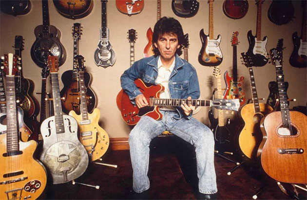 george harrison guitar lucy - photo #3