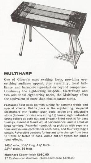 Gibson Multiharp