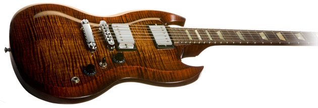 SG Carved Top-Autumn Burst