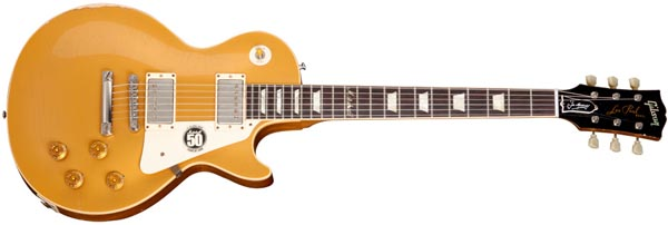 The 50th Anniversary of Marshall Les Paul Goldtop