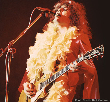 Marc Bolan of T Rex