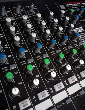 Mixer photo by Shane Sanders