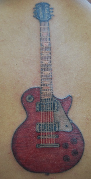 Les Paul tattoo