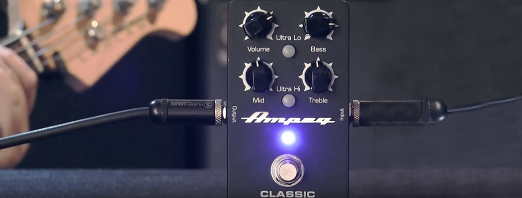 Ampeg Bass PreAmp