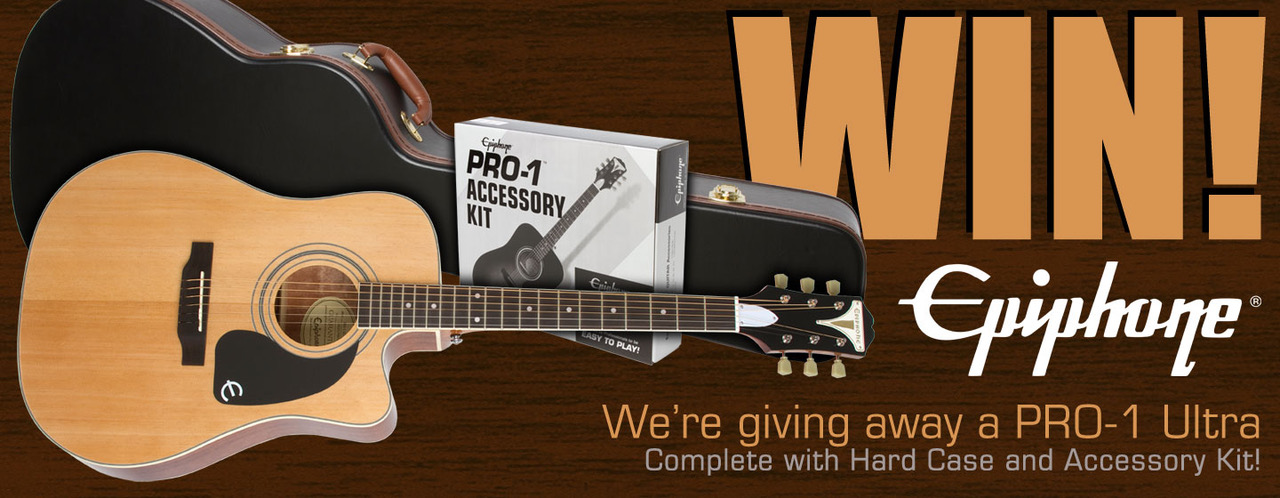Epiphone July Giveaway