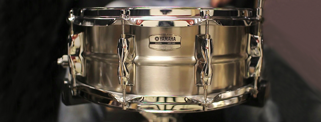 Yamaha Recording Custom Stainless Snare