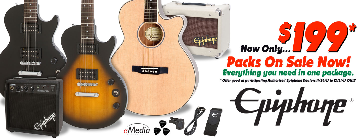 Epiphone October Giveaway