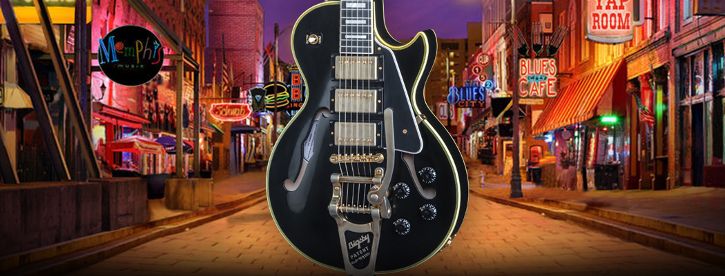 Gibson Memphis ES LPC Black Beauty