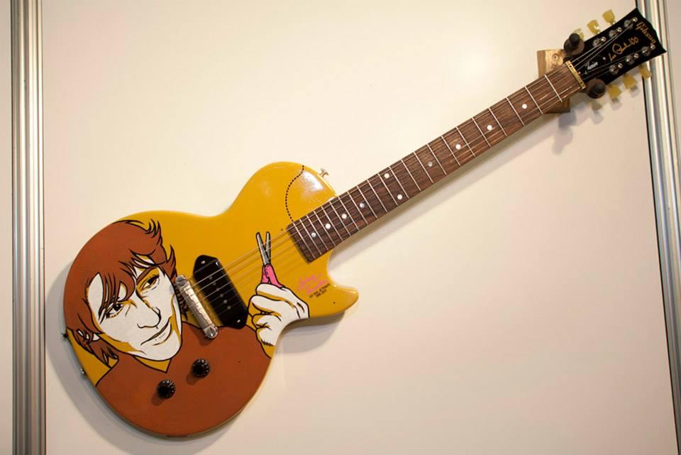 Gibson storytelling guitarras y c mics en el 33 sal n del for Guitarras barcelona