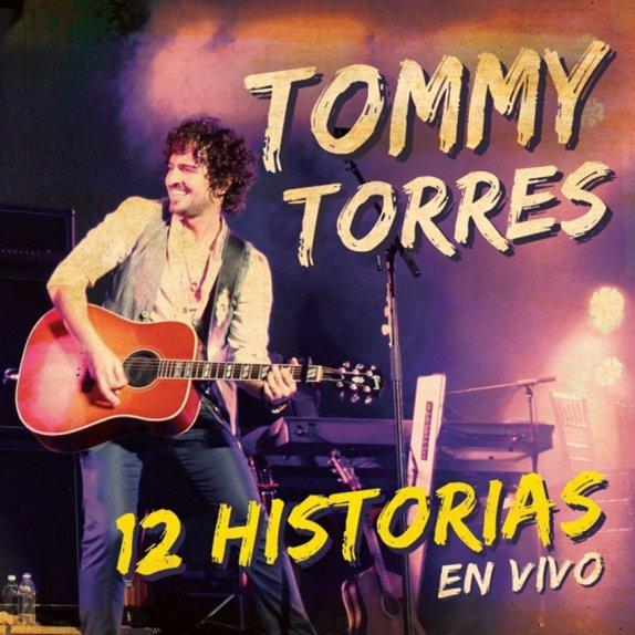 """Tommy Torres presenta su CD/DVD En Vivo """"12 HISTORIAS EN VIVO"""""""
